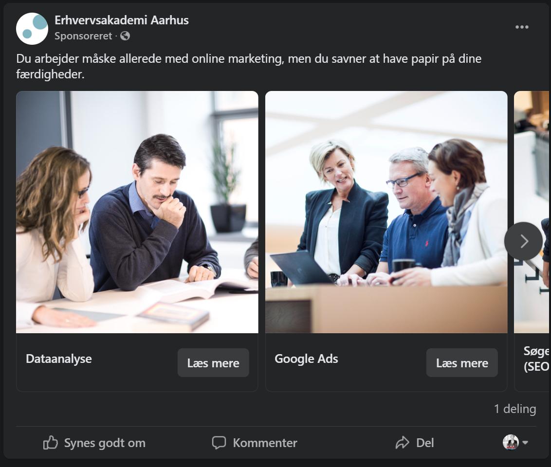 google ads målgruppe